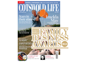 Cotswold Life Family Business Award Winners 2013