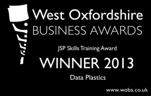 West Oxfordshire Business Awards Winner 2013