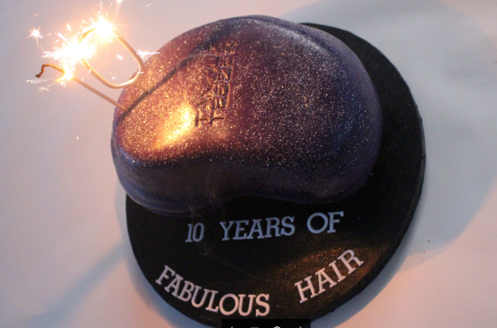 10 year celebration with Tangle Teezer