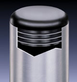 standard round ribbed inserts
